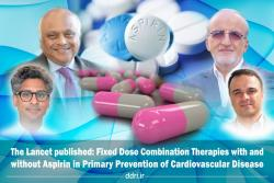 """Published in The Lancet :Fifty percent reduction in CVD death with """" Polypill with Aspirin""""  combo therapy, based on the findings of a new study"""